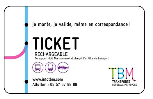 Ticket TBM