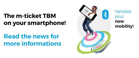 m-ticket TBM Witick : your ticket on your smartphone!