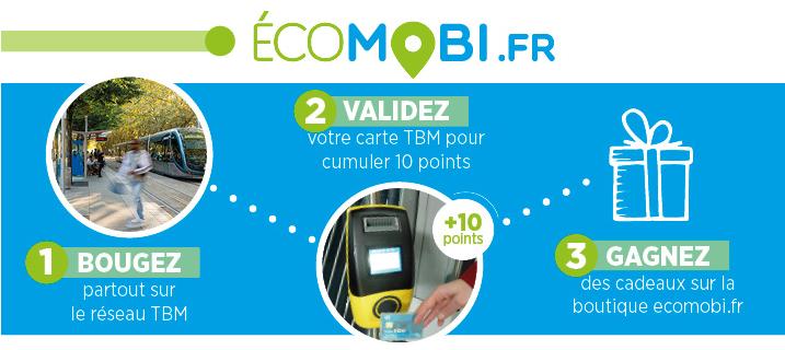 Carte Tbm Bordeaux.Ecomobi Earn Rewards When You Travel With Tbm S Loyalty Programme
